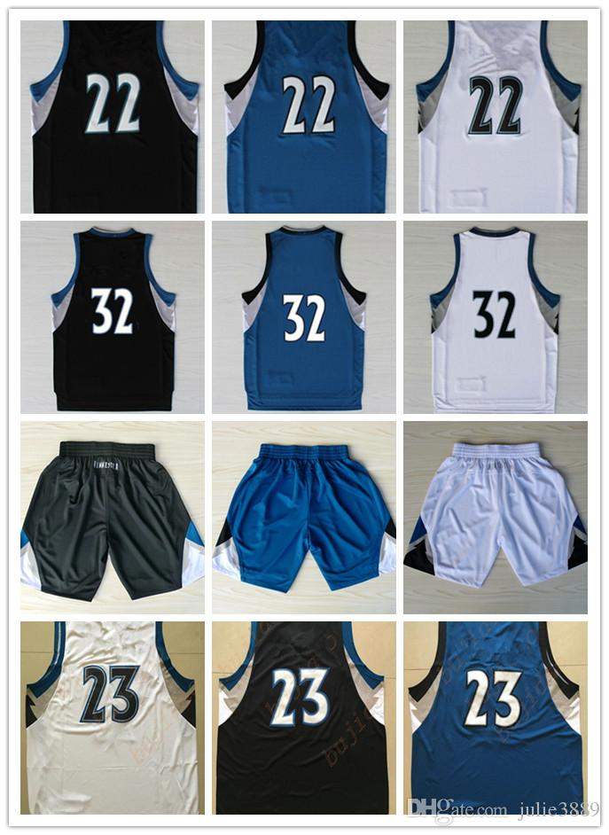 ... 2017 Cheap 2017 2018 New MenS 23 Jimmy Butler Jersey Stitched Sewn Blue  Black White 22 Andrew Wiggins one ups Carmelo Anthony ... be9822b85