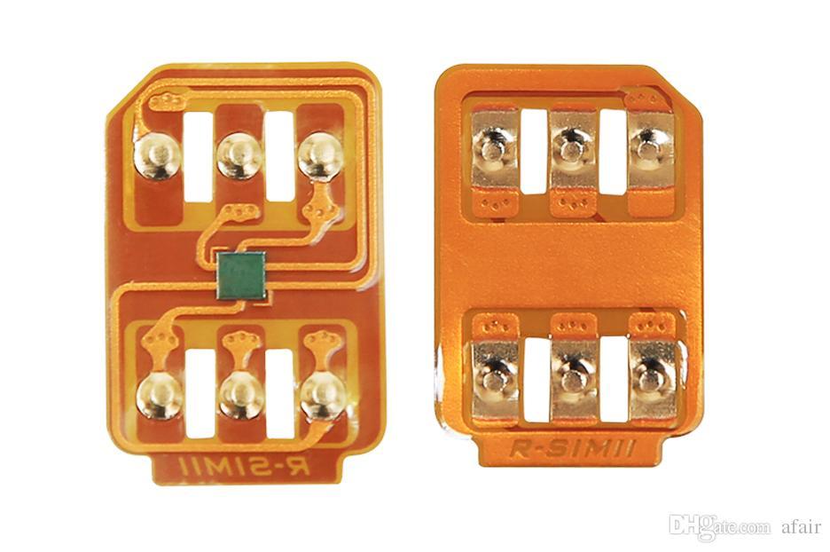 R SIM 11+ RSIM11 plus r sim11+ rsim 11 unlock card for iPhone 7 plug iphone 6 unlocked IOS10 IOS 10 9/8/7 4G CDMA GSM/WCDMA AU SPRINT