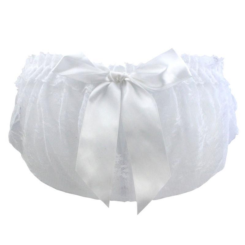 Femmes Sexy Floral Lace Ultra-mince Briefs Voir à travers la dentelle transparente Bowknot Underwear Femmes Erotic Briefs Culotte Respirant Lingerie