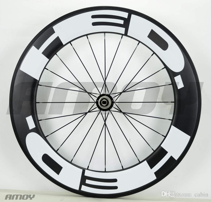 25mm width hed Front 60mm with Rear 88mm Clincher Road Bike Carbon wheels 700C Powerway hubs pillar spokes