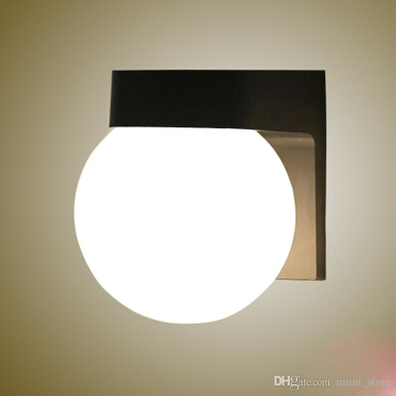 Discount Acrylic Ball Led Wall Lights Bedside Ball Wall Lamp, Ac85 ...