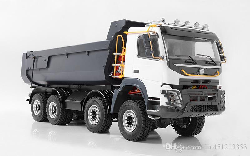 Compre 1 14 Rc Modelo De Carro Juguetes Tamiya Camion 1 14 8x8