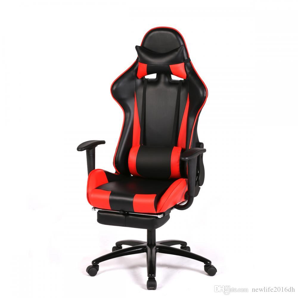 2018 New Red Gaming Chair High Back Puter Chair