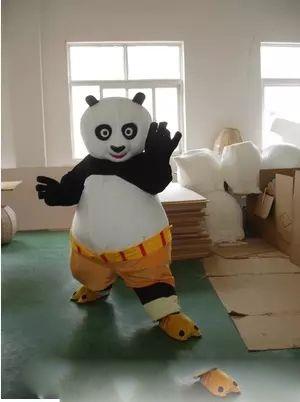 sell like hot cakes kung fu panda panda mascot costume dress up adult halloween size cartoon garment plus size costumes cowgirl costume from goldlion168 - Kung Fu Panda Halloween