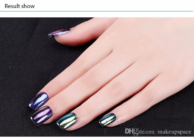 16 Couleurs Vernis À Ongles Poudre Miroir Effet Paillettes Poudre Pour Ongles Art Brillant Pailleté Polonais Miroir Poudre Vernis Pigment Nail Podwer