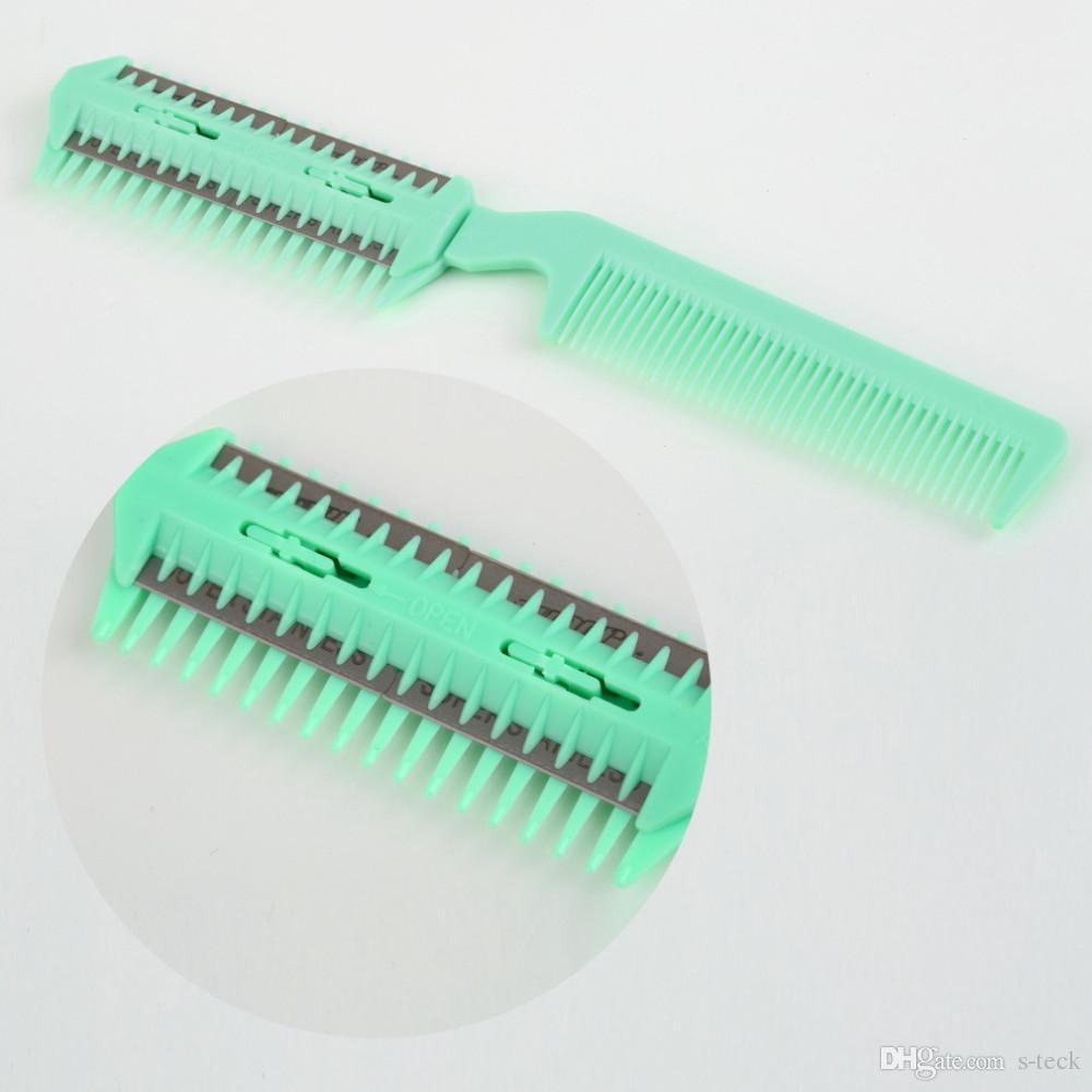 Hair Razor Comb Scissor Professional Home Thinning Trimmer Hairdressing Shaving hair comb