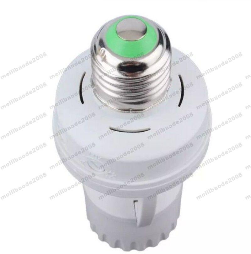AC 110-220 V 360 Graus PIR Indução Sensor de Movimento IR infravermelho Tomada E27 Tomada Interruptor Base de Base de Lâmpada LED lâmpada Titular MYY