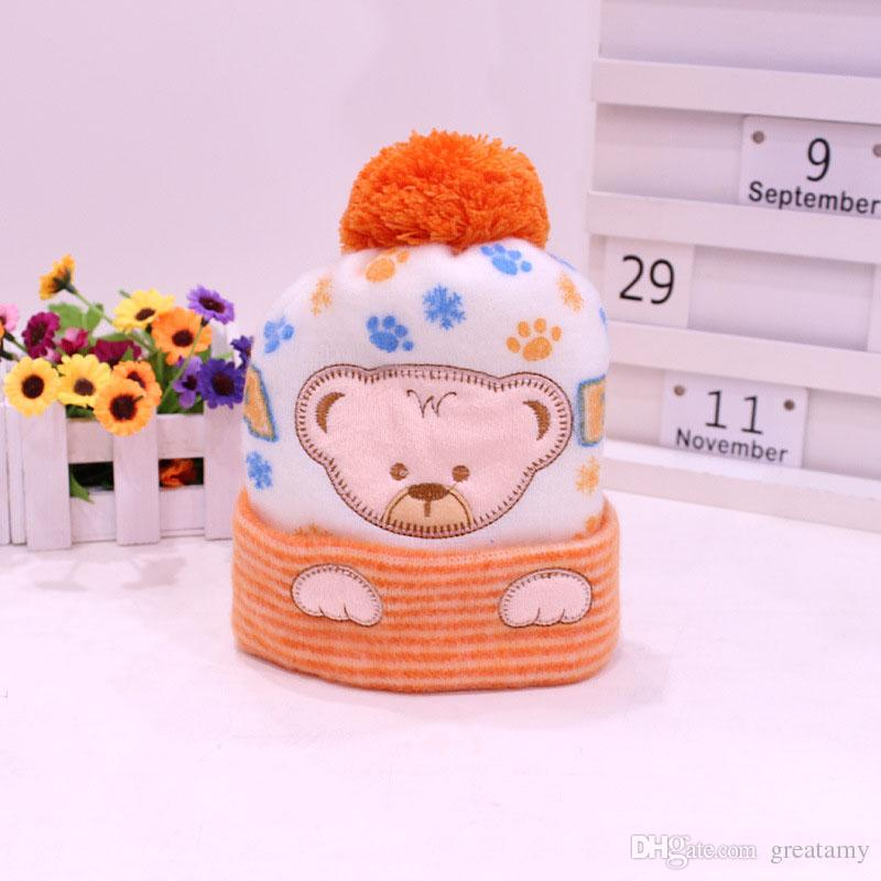 Baby Hat Kids Winter Hats Newborn Cap Hot Super Soft Cashmere Beanie Bonnet For Boys Girls Photo Props Baby Clothing Knitted Cap