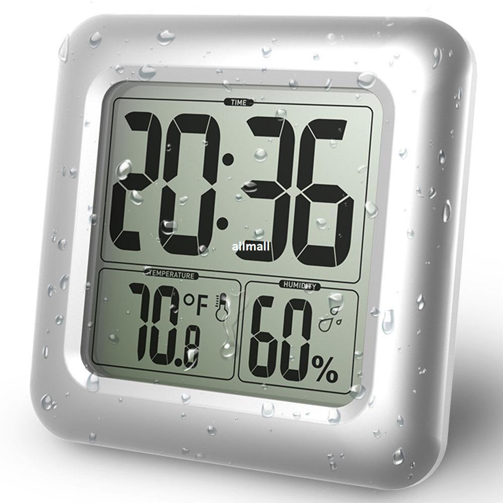 Uhr Für Badezimmer, großhandel wasserdichte dusche uhren uhr temperatur luftfeuchtigkeit, Design ideen