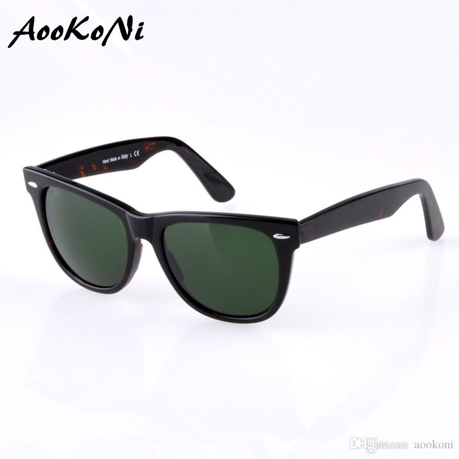 edc896eb5fd AOOKONI Fashion Glass Polarized Sunglasses Men Women Brand Designer ...