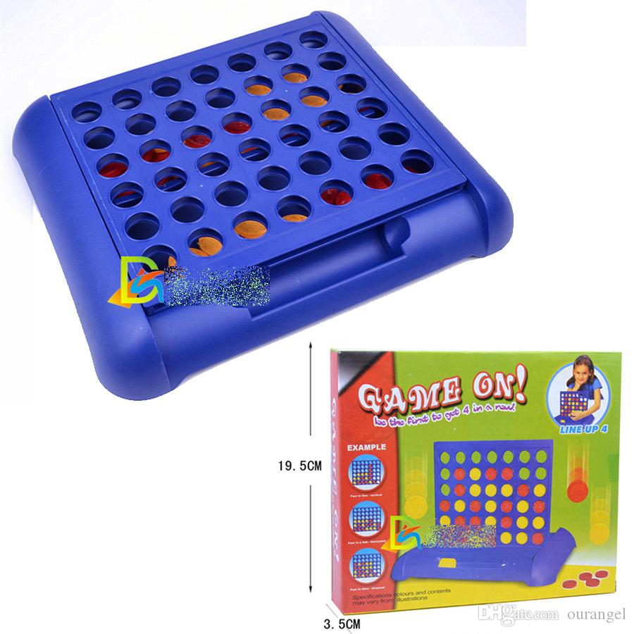 Compre Connect 4 Game Line Up 4 Game Inteligencia Juego De Mesa De