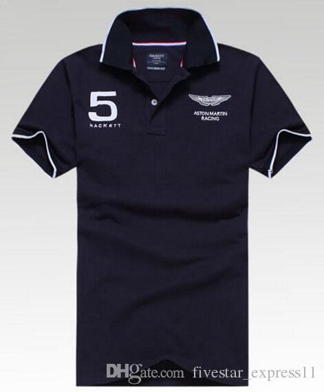 2019 England Design Mens Hackett Sport Polo Shirt Brands London