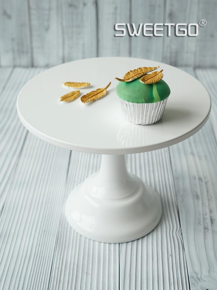 Online Cheap Wholesale White Cake Stand Cupcake Plates Wedding Party Decoration Baking Pastry Cake Dessert Tray Dinnerware Candy Tray Candy Fruit Dish By ... & Online Cheap Wholesale White Cake Stand Cupcake Plates Wedding Party ...