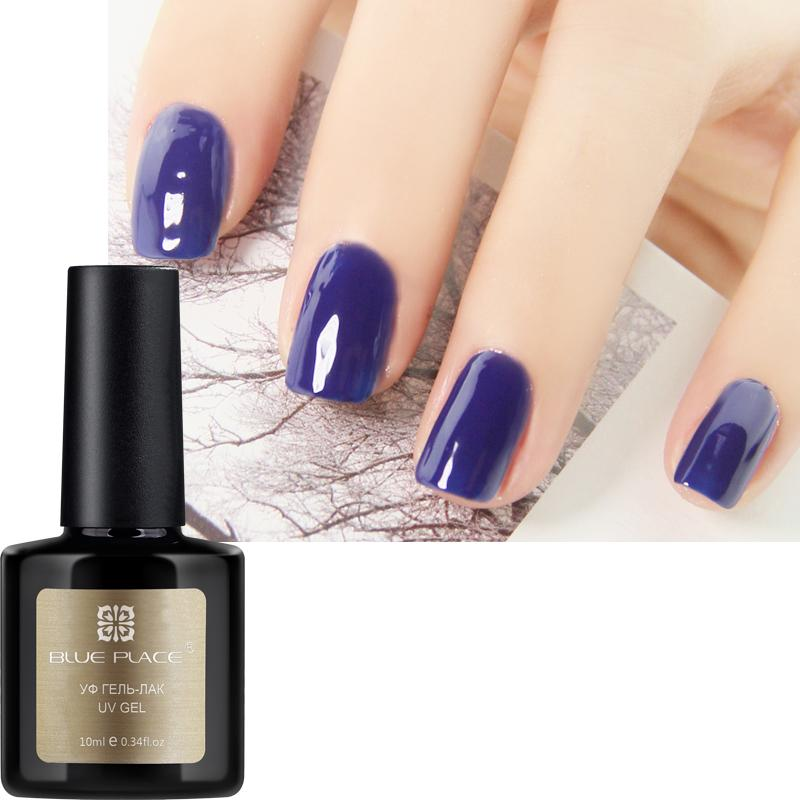 Wholesale Set New Blue Place 10ml Set Nail Gel Polish Shiny Vanish ...