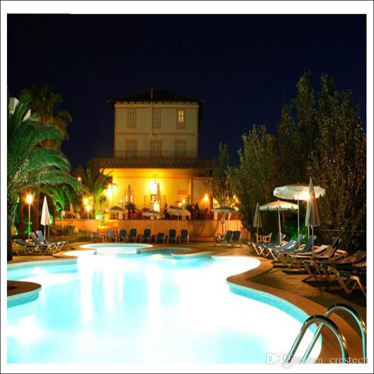 Lampada da terra a LED subacquea con illuminazione a LED RGB piscina con stagno fontana plaza impermeabile luce esterna IP68