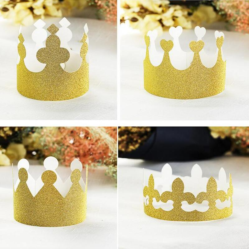 Children Adults Crown Prince Princess King Queen Crown Birthday ...