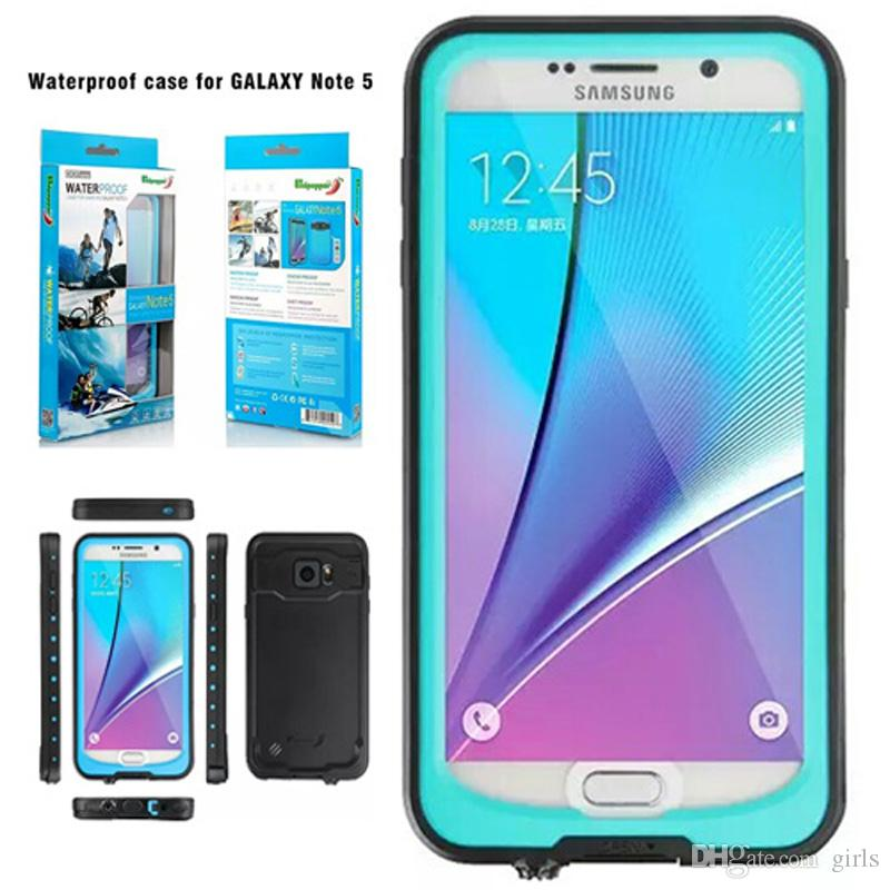 great fit 6df0b ad76d Redpepper Waterproof Shockproof Dirt Resistant case 7 colors With Retail  Packaging For Samsung Galaxy Note5 100% Original