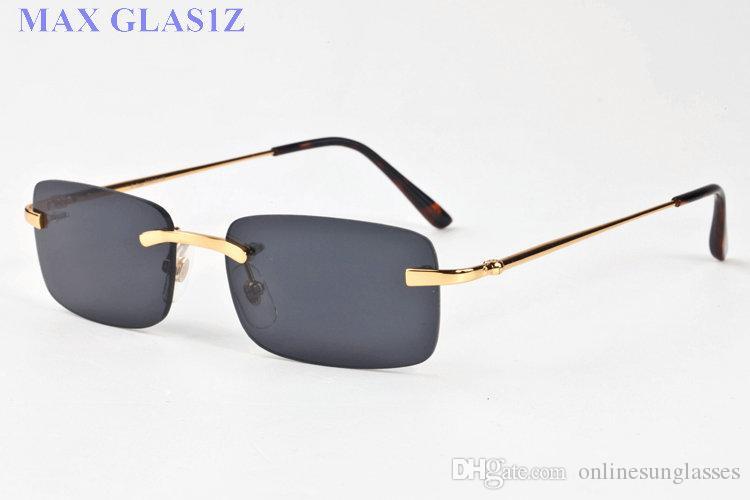 Compre 2017 Moda Vintage Óculos De Sol Das Mulheres Designer De Marca De  Luxo Polarizada Famosa Marca Mulheres Óculos De Sol Senhoras Óculos De Sol  Sem Aro ... d27341f676