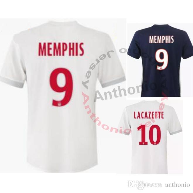 camisetas de futbol Olympique Lyonnais online