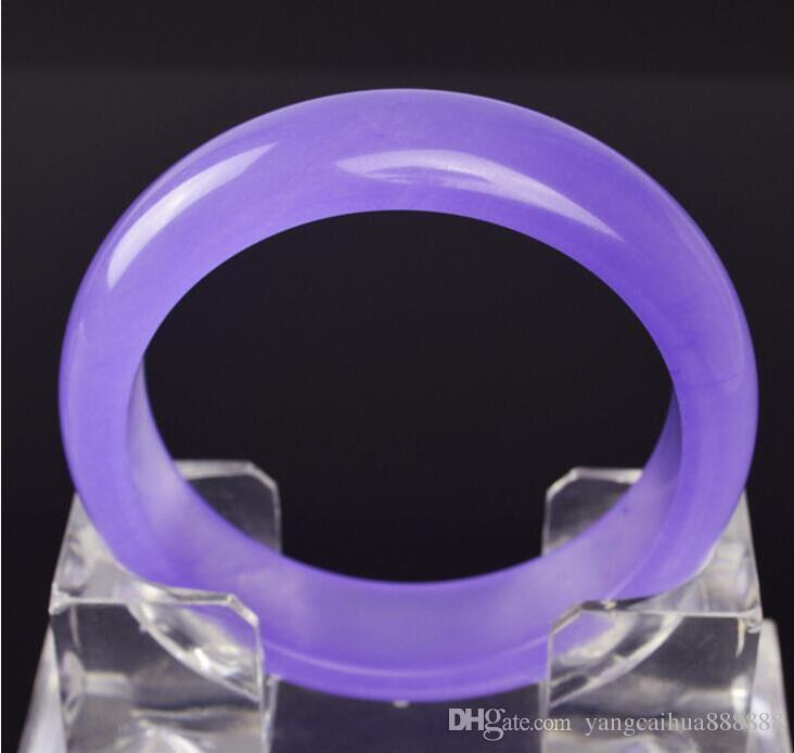 Bracciale al 100% di giada garantisce il falso a compensare dieci, supporto alla rilevazione. Dimensioni 56mm - 62 mm