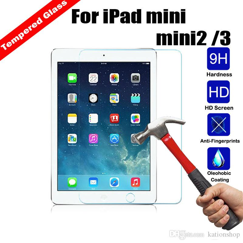For iPad Mini 2 3 4 air PRO 9.7inch Screen Protector Shatterproof Anti-Scratch HD Clear iphone xs max note9 Air Tempered Glass