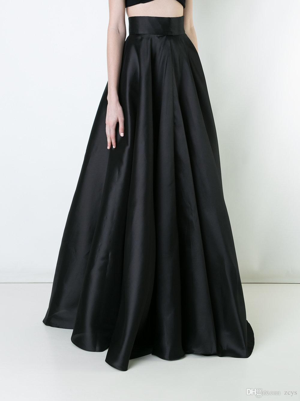 2018 Women Maxi Long Skirt 5XL 4XL Elegant High Waist ...