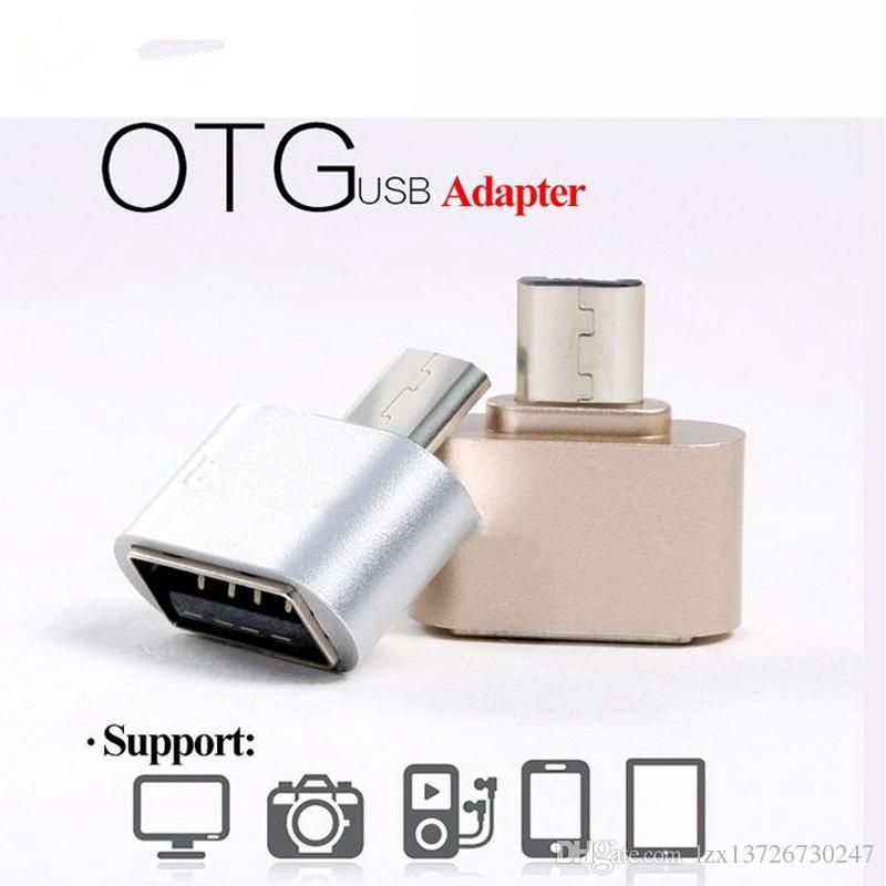 OTG Hug 2.0 Convertisseur OTG Adaptateur Micro USB vers Hub USB pour Mini Gadget Android Câble Lecteur de carte Lecteur Flash Drive Fil