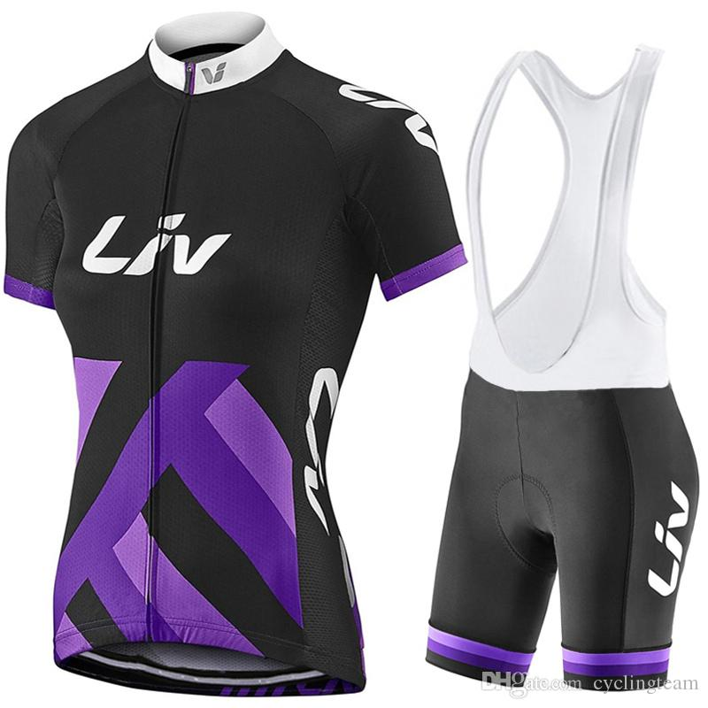 2017 Liv Cycling Jerseys Women Cycling Clothes Bicycle Pink