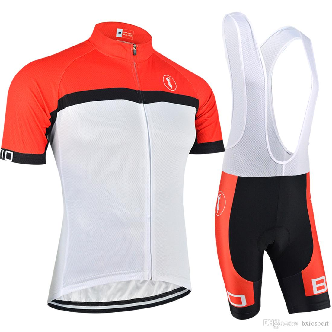 Panda Fashion Cycling Bike Short Sleeve Clothing Set Jersey Bib Shorts S-3XL