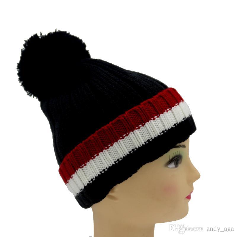709b2c2bba713 2016 Real Hat Real Big Mon Hat Men Women Winter Hat Beanies Bulb ...