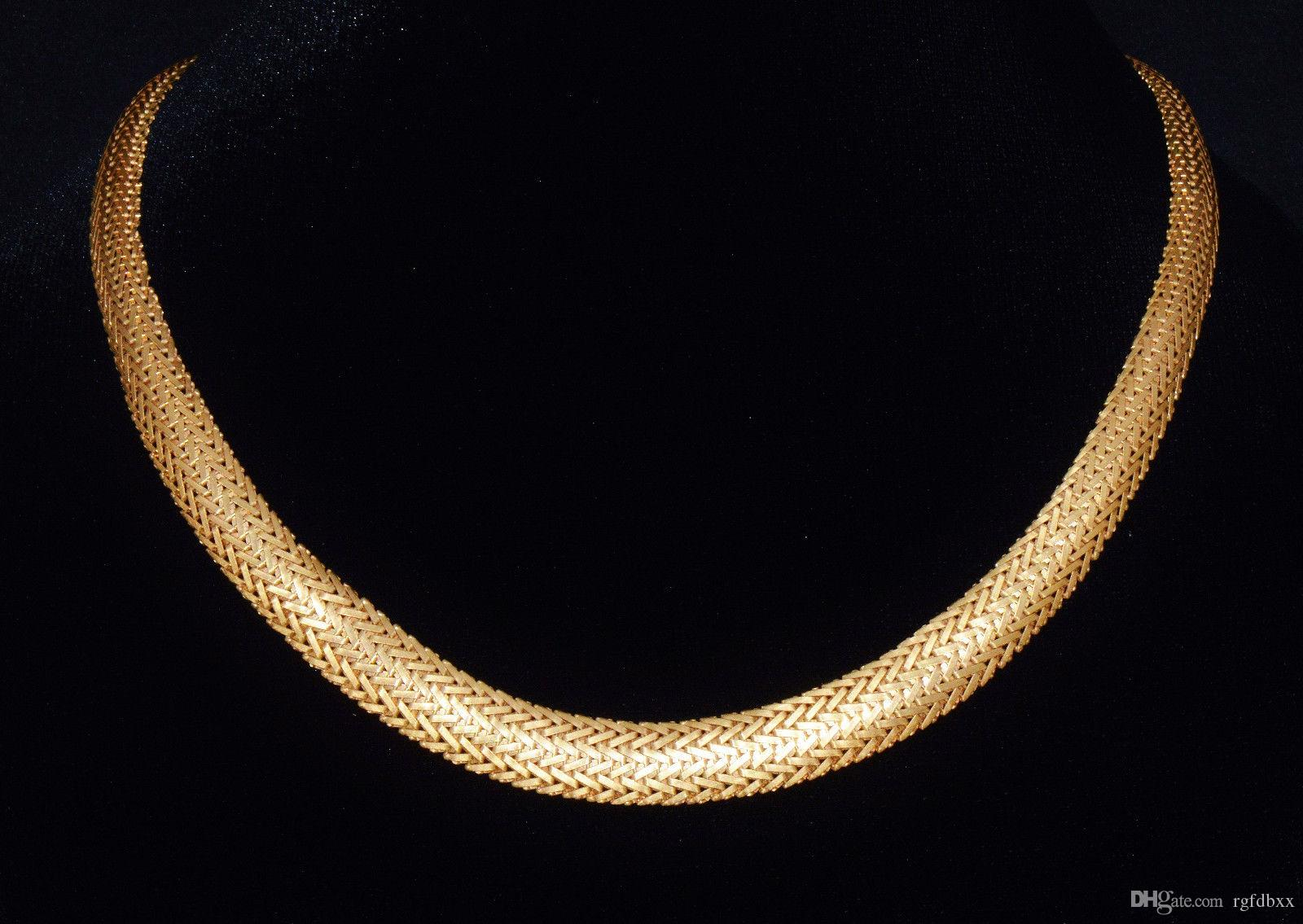 necklace estate gold round diamond and baguette products img