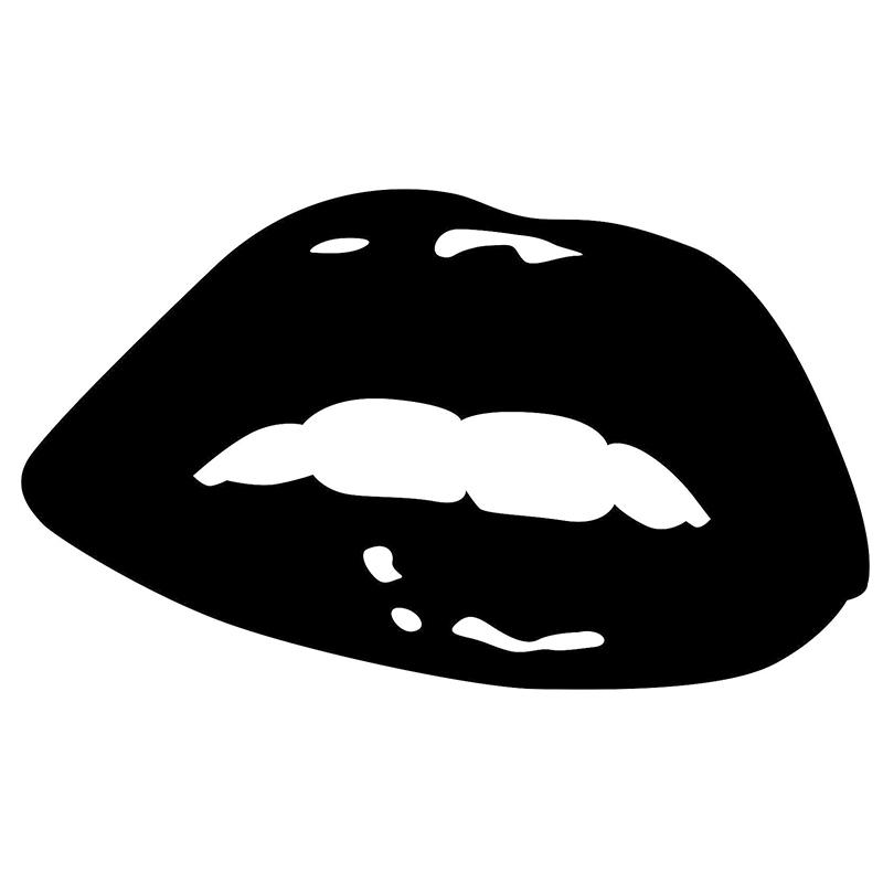Sexy Lips CAR WINDOW STICKER for Cars Rear Windshield Truck Bumper Auto Door Laptop Kayak Canoe Art Wall Vinyl Decal