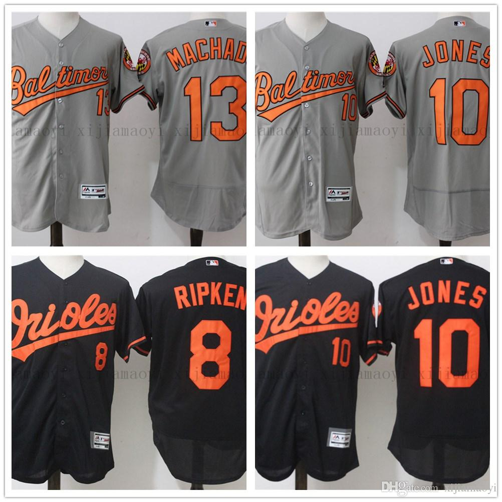 5a1d39a4c ... Youth Cooperstown Collection Cool Base Player Jersey - Orange Baltimore  Orioles 8 Cal Ripken Baseball Jersey Mens 13 Manny Machado 10 Adam Jones  100% ...