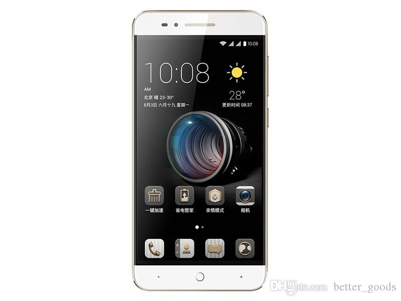 Original ZTE Yuanhang 4s 4G LTE Mobile Phone MT6735P Quad Core 2GB RAM 16GB ROM Android 5.1 5.0inch 8.0MP Fingerprint OTG Smart Cell Phone