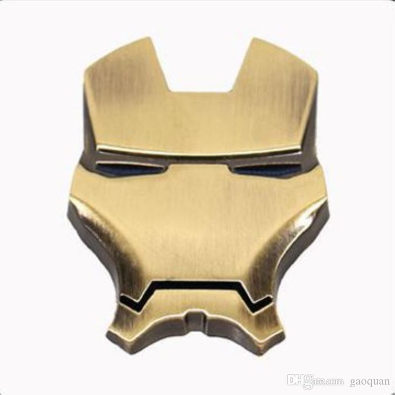 / Pack optional Auto personality 3D metal iron man auto logo avengers union car sticker refit