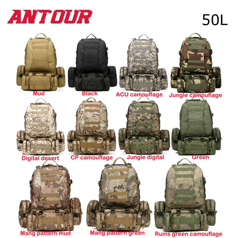 2019 New Large 50L Molle Assault Tactical Outdoor Military Rucksacks  Backpack Camping Bag From Yihanstore 69946c30f6c3d