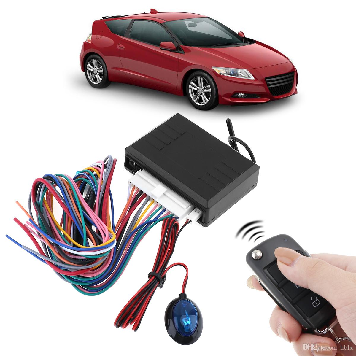 12V Car Alarm System Vehicle Keyless Entry System with Remote Control & Door Lock Automatically for Hyundai CAL_10A