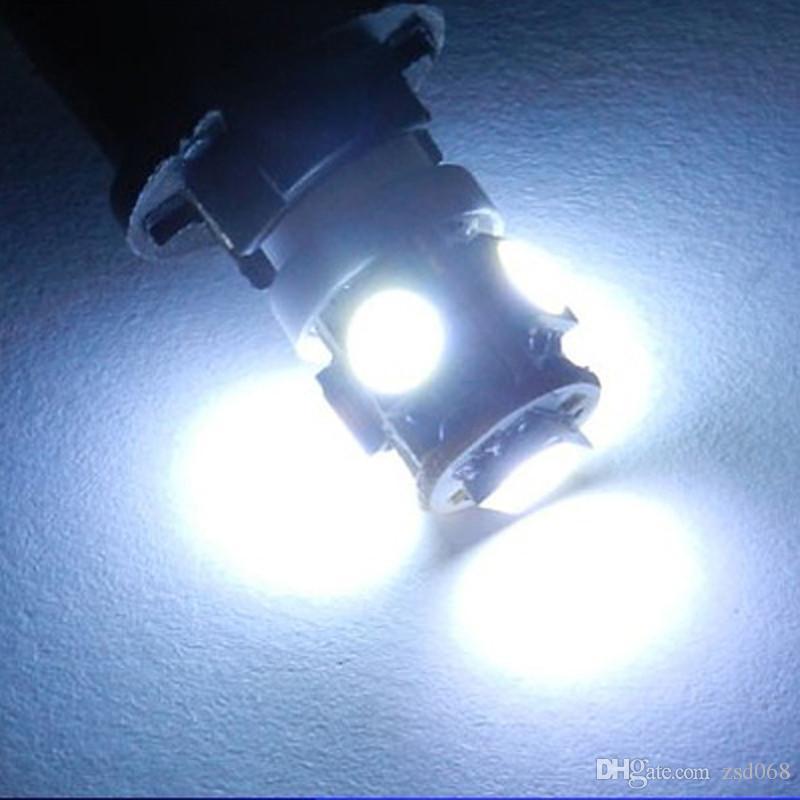 100 قطع t10 5smd 5050 led في canbus خطأ شحن أضواء السيارات w5w 194 5smd ضوء لمبات خطأ الأبيض