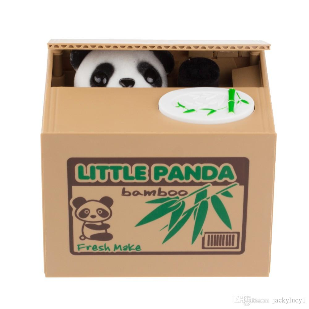 Cheap Itazura Cute Kitty Cat Stealing Coins Japanese Piggy Bank Saving Bank Saving Pot Money Box