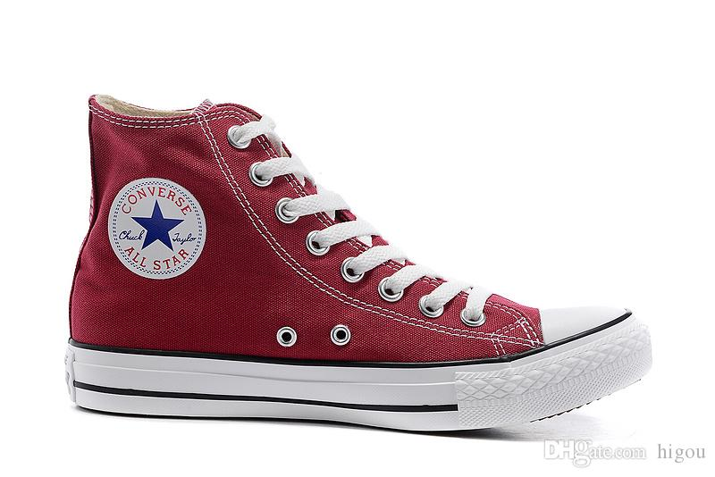 2018 Converse Chuck Tay Lor All Star Designer Canvas Skateboard Shoes Mens Womens High Top Classic Converses Skate Casual Running Sneakers Canada 2019