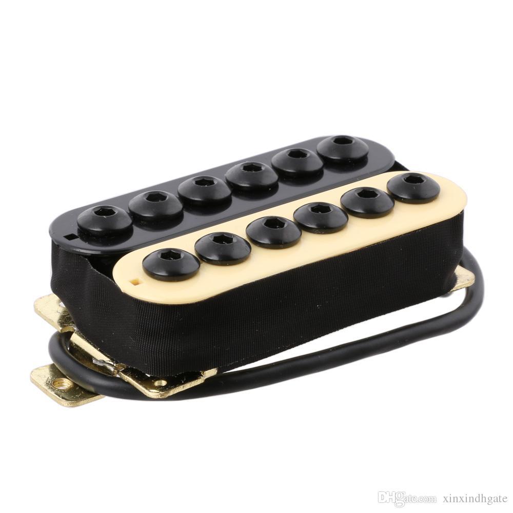Ímã De Cerâmica Invader Estilo Guitarra Humbucker Pickup Pescoço IV / BK