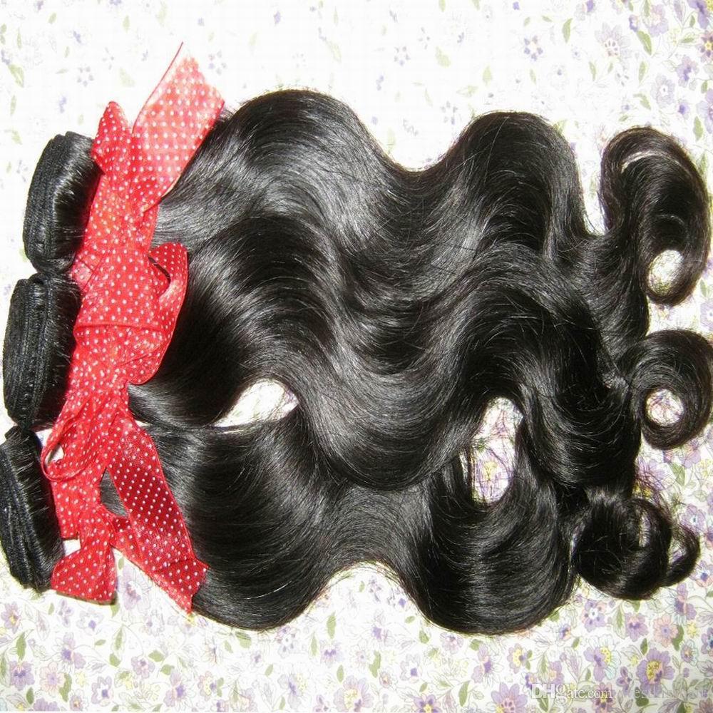 Сырцовые необработанные выдвижения волос Высокомарочная филиппинская объемная Волна 3 пачки общаются продолжительная красотка