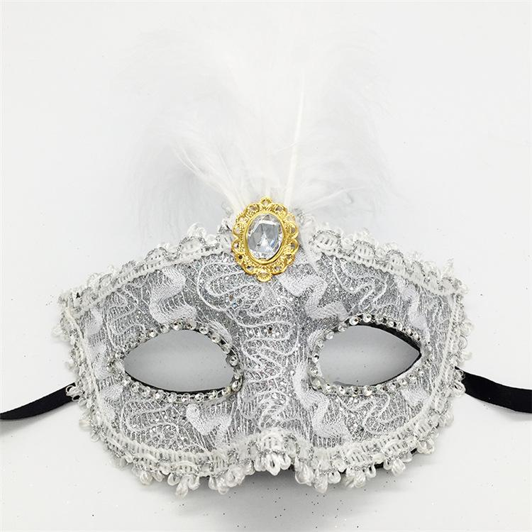 Comercio al por mayor 2017 Venta Caliente de Halloween Fiesta de Baile Peacock Máscara de Plumas Danza Sexy Bola Máscara de Encaje Catwoman Masquerade Dancing Party Eye Mask