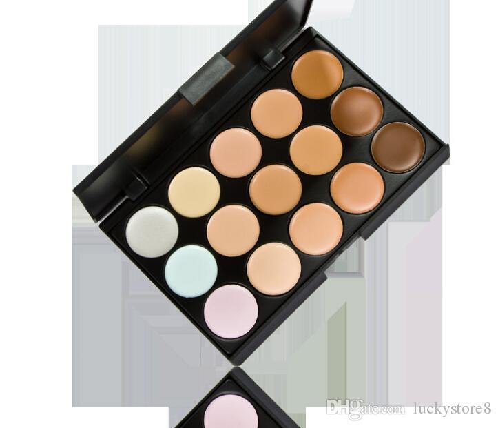 Concealer palette Face Cream Concealer Facial Care Camouflage Makeup Palette with Makeup Brushes
