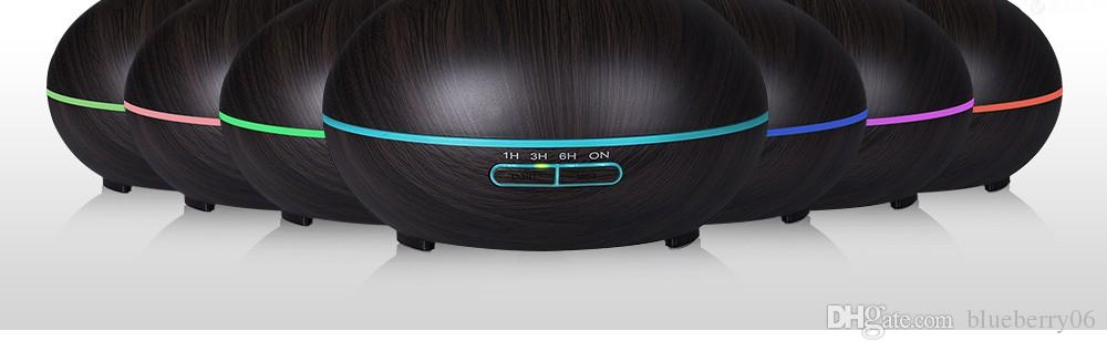 Air Purifier Diffuser Aroma Lamp Electric Aroma Diffuser Mist Maker Adjustable Light and Mist