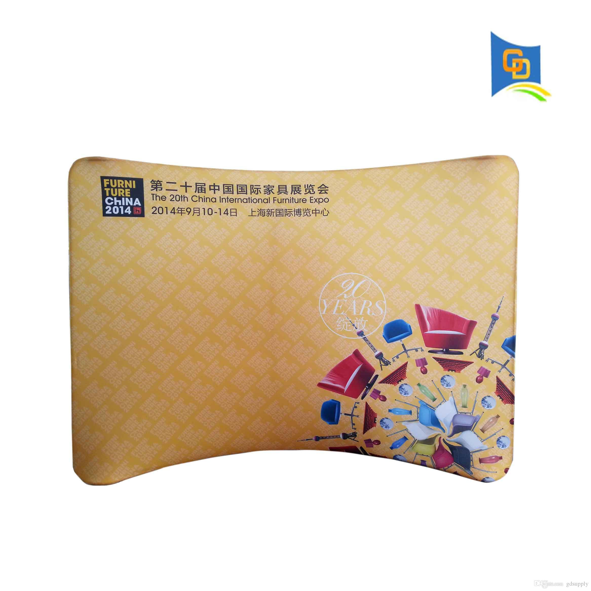 Fabric Exhibition Stand Year : Ft exhibition booth trade show wall curved tension fabric