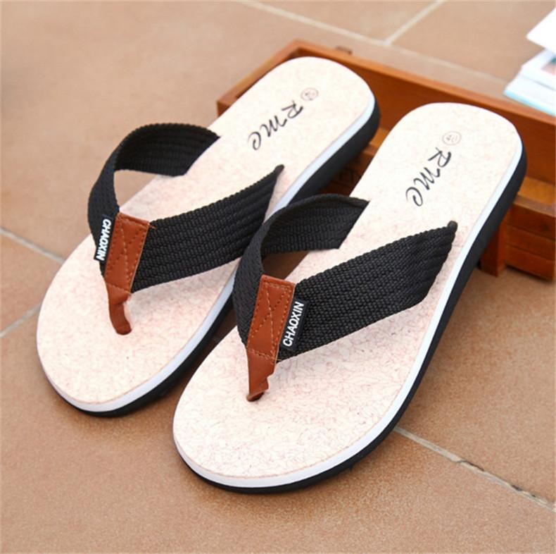 09f6b311a054 Flip Flops Men Sandals Shoes For Casual Walking Beach Slides EVA Massage  Slippers Designer Flats Male Summer Mens Shoes SLM505 Cheap Boots High Heel  Shoes ...