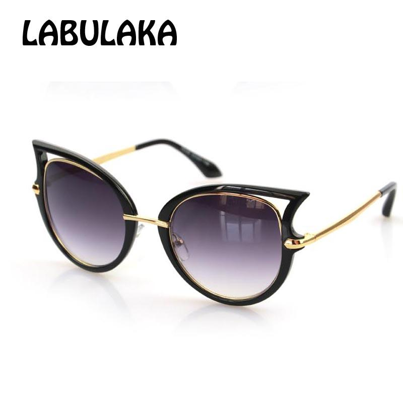 c17479b5b0 Wholesale Brand 2016 Fashion Designer Sunglasses Women Personality Cat Eye  Shades Glasses Gafas Unisex Outwear Sun Galss Oculos De Sol Sunglass Cheap  ...
