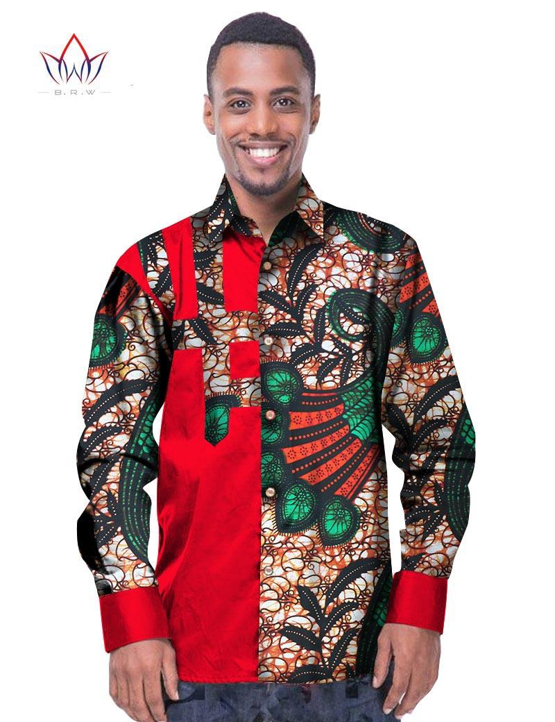 679fd3cbd32 2019 Wholesale Trending Men African Fashion Dashiki Design Print Shirt  Mandarin Collar Personal Customized African Dashiki Men Clothes WYN229 From  Baxianhua ...