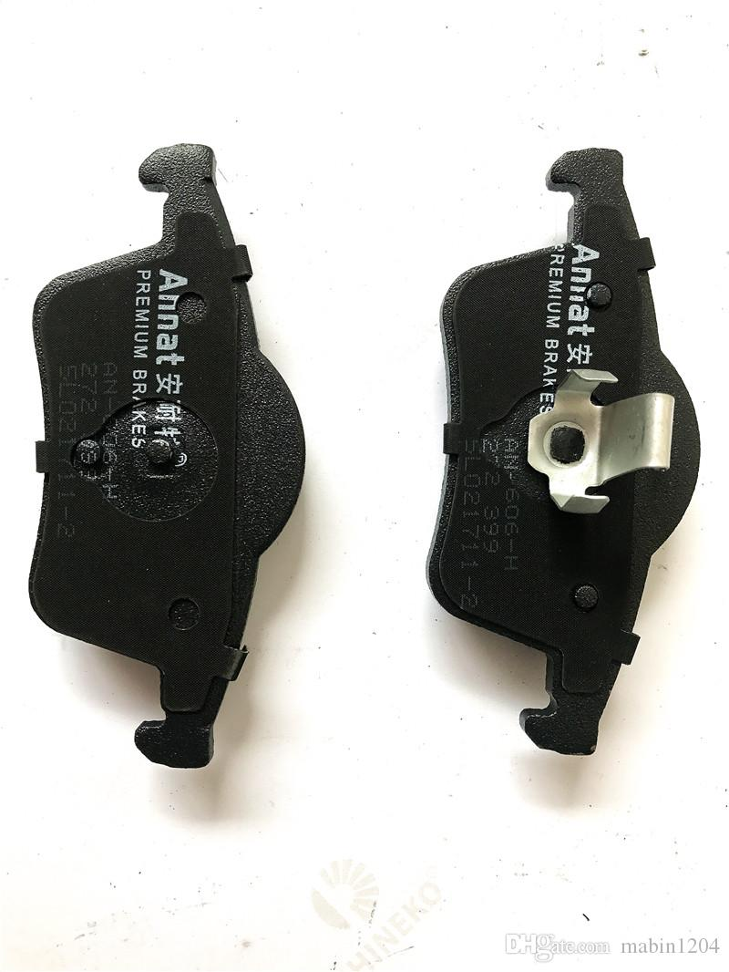 BRAKES PADS AUTO PARTSM APPLICABL Volvo S80 REAR PLATE CERAMIC TRUCK PROOF MUTE SAFE BRAKE SYSTERMS D795-FF